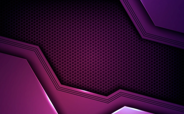 Purple abstract dimension background