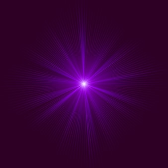 Purple abstract explosion.   file included