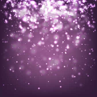 Purple abstract glitter background