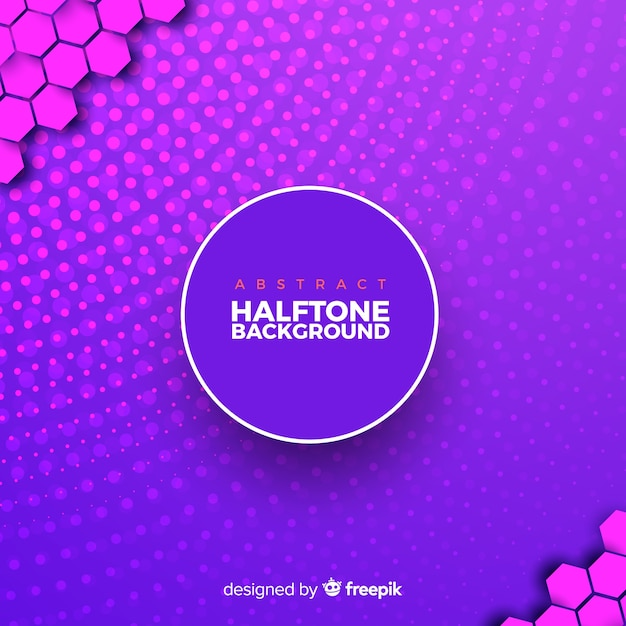 Free Purple Abstract Halftone Background Svg Dxf Eps Png