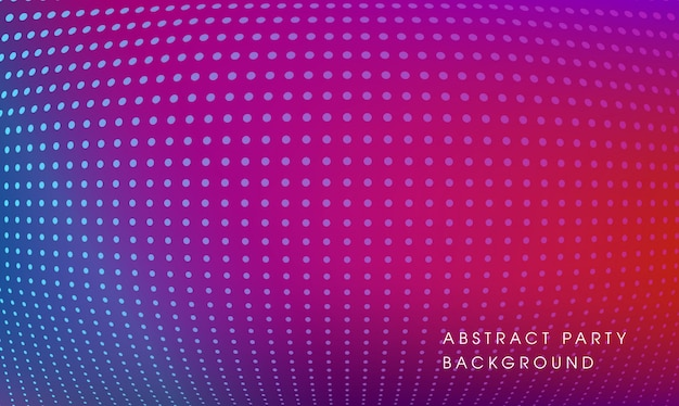 Purple abstract party backdrop design