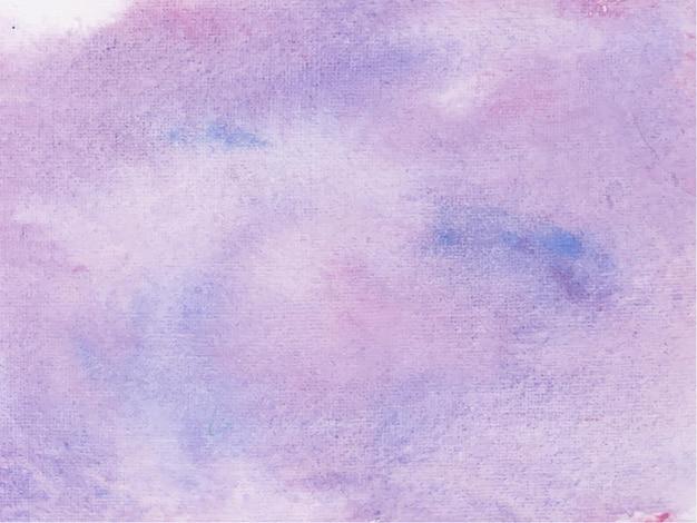 보라색 추상 수채화 배경입니다. 종이에 튀는 색상
