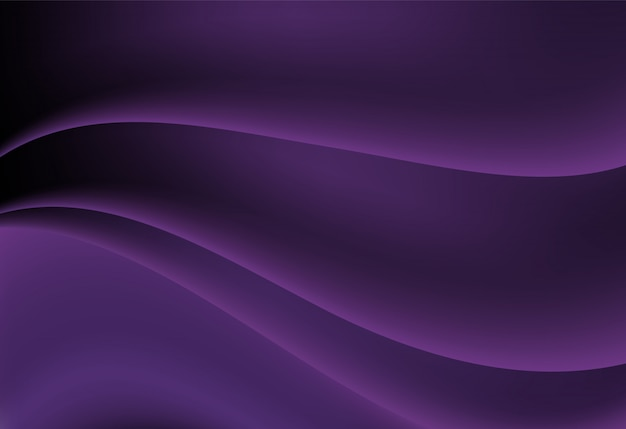 Purple abstract wavy background