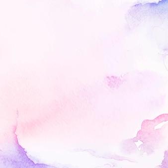 보라색과 분홍색 수채화 스타일 배경