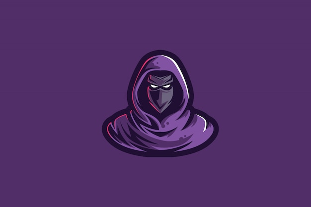 Purple assasins - логотип для киберспорта
