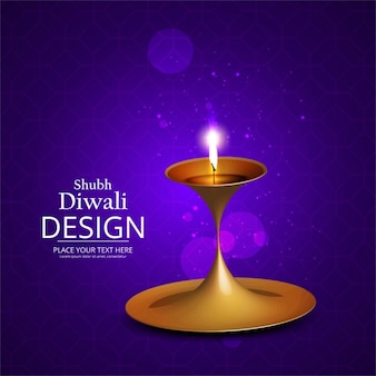 Purple background for diwali