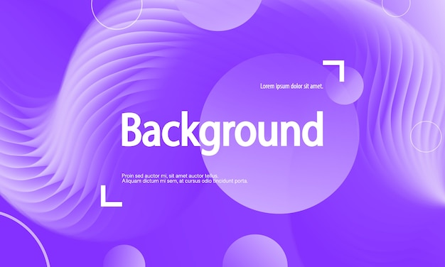 Purple background. fluid flow. landing page.