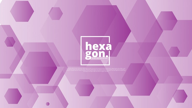 Purple background of hexagons. geometric style. mosaic grid.