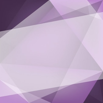 Purple background made of polygonal shapes