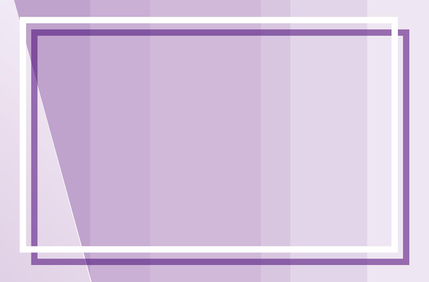 Purple background with sqaure frame Free Vector
