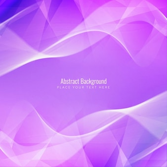 Purple background with waves