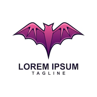 Purple bat logo