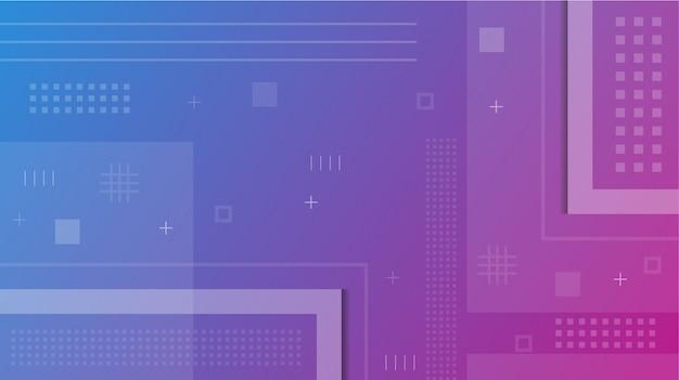 Фиолетовый синий градиент геометрический современный абстрактный фон