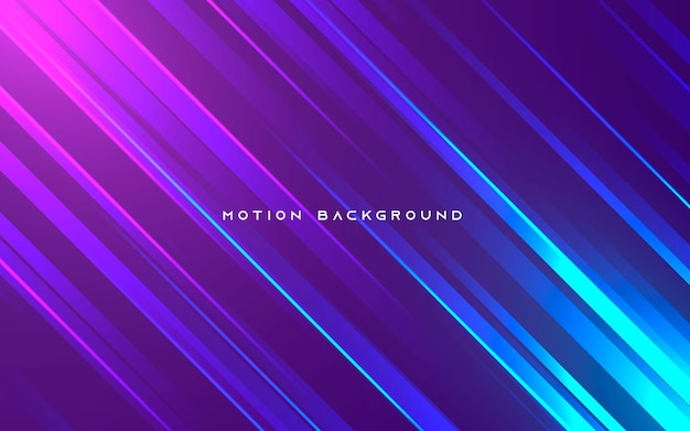 Purple and blue motion light background
