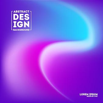 明るくカラフルな紫色のぼやけグラデーションメッシュの背景