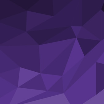 Purple color abstract polygon background