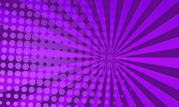 Purple comic book background