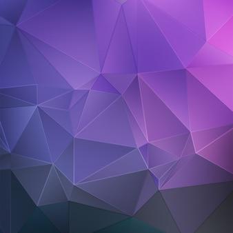 Фиолетовый кристалл абстрактный фон