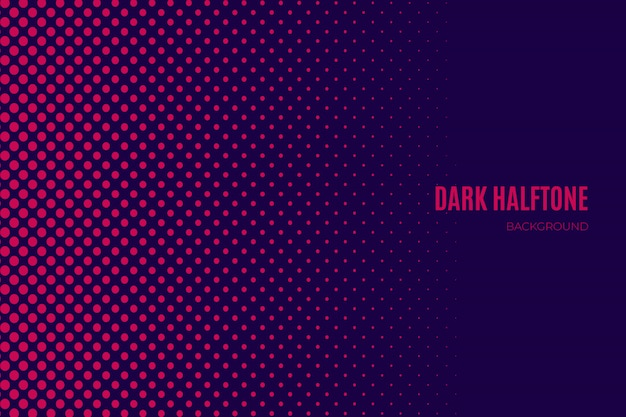Purple dark halftone background