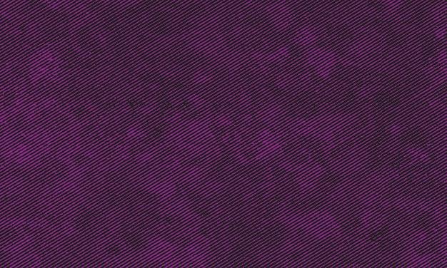 紫の斜めのグランジストライプの背景