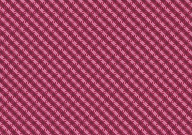 小さな円の紫色の斜めのパターン