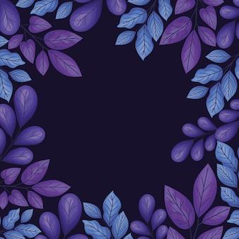 紫の花の背景