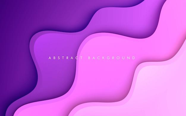 Purple fluid color background