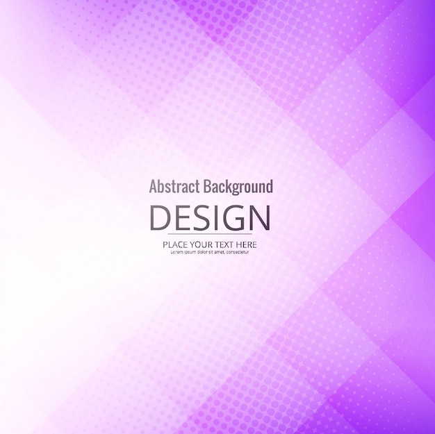Purple geometric background