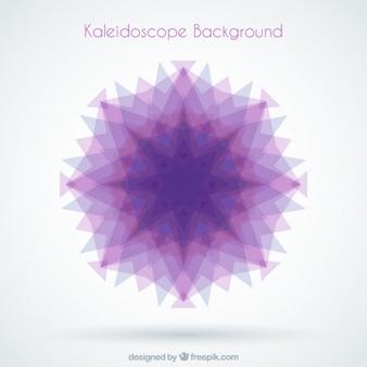 Purple geometric shape background