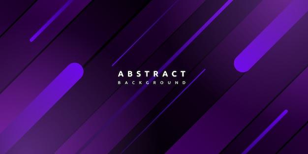 Purple geometric with stripe background