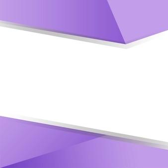 Purple geometrical background design vector