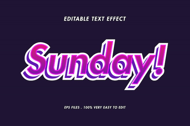 Purple gradient candy text effect