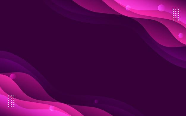 Фиолетовый градиент жидкости абстрактный фон