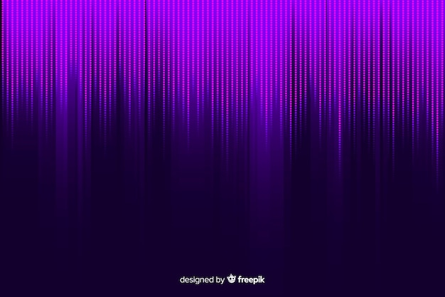 Purple gradient particles background