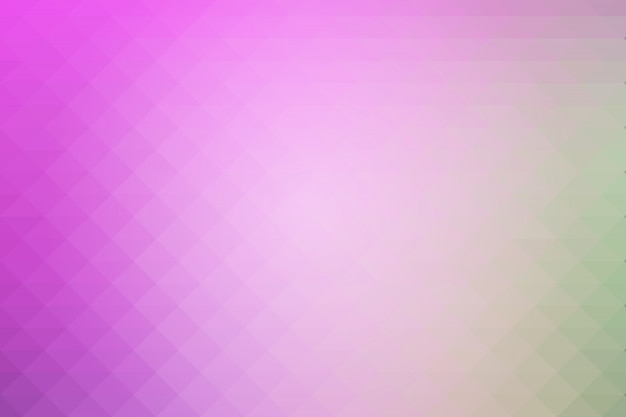 Purple green pink rows of triangles background