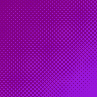 Purple halftoned dots background