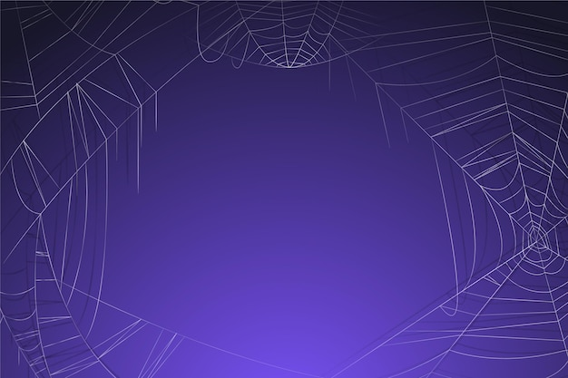 Purple halloween background with empty space