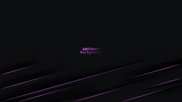 Фиолетовая линия на абстрактном фоне