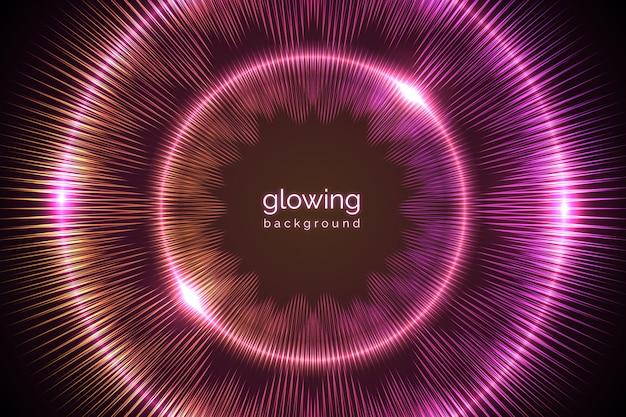 Фиолетовый неоновый свет backgound