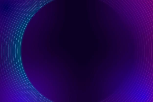 Purple neon lined pattern on a dark background