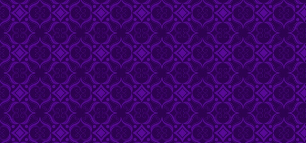 Purple ornamental vintage pattern