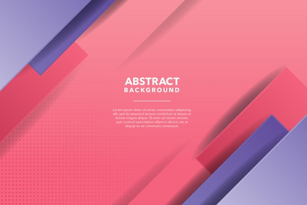 Purple pink modern abstract background
