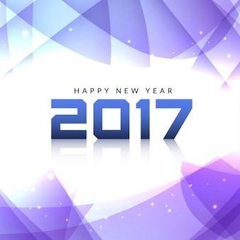 Purple polygonal background for new year