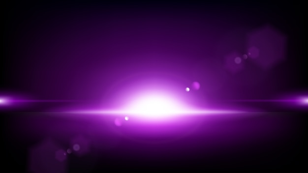 Purple rays rising background