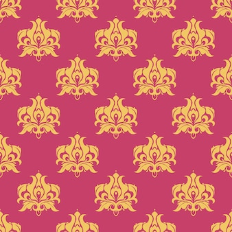 Purple royal pattern