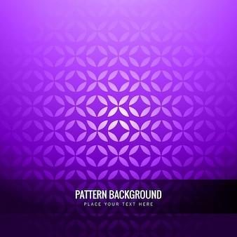 추상적 인 형태와 보라색 빛나는 패턴