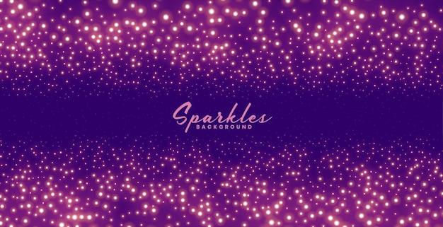 Фиолетовый блестящий фон для темы празднования фестиваля