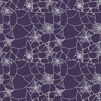 Purple spider web pattern