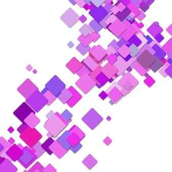 Фиолетовый квадрат фона