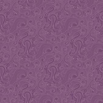 Purple swirls pattern